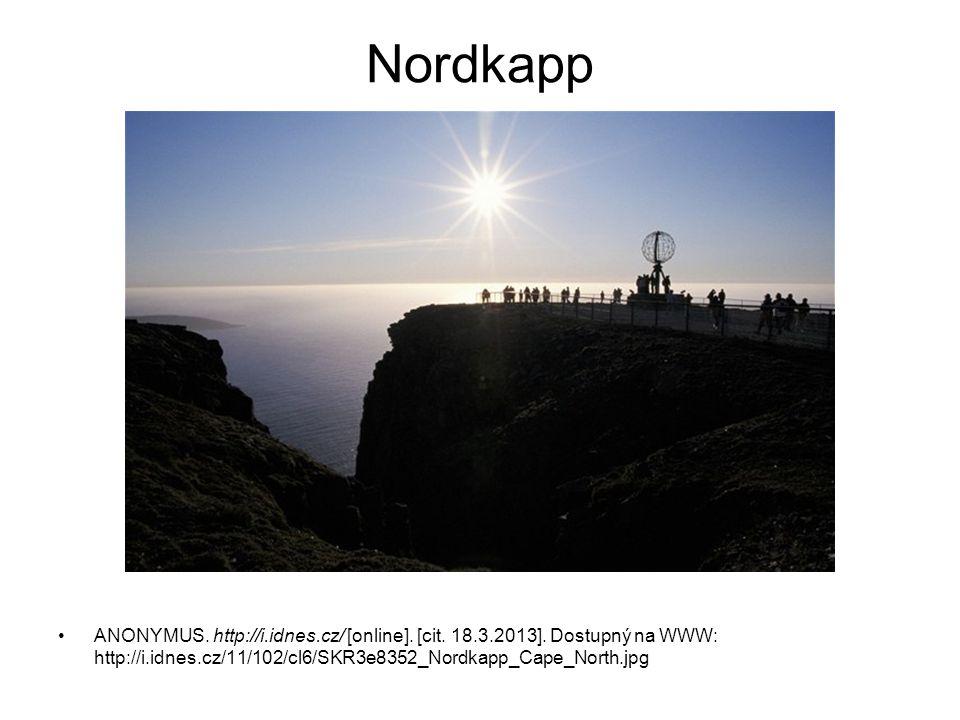 Nordkapp ANONYMUS. http://i.idnes.cz/ [online]. [cit.